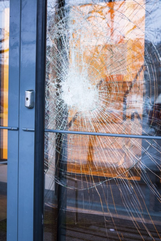 Broken Glass Door. iStock_000074085949_Medium & Broken Glass Door | New York City Shower Doors