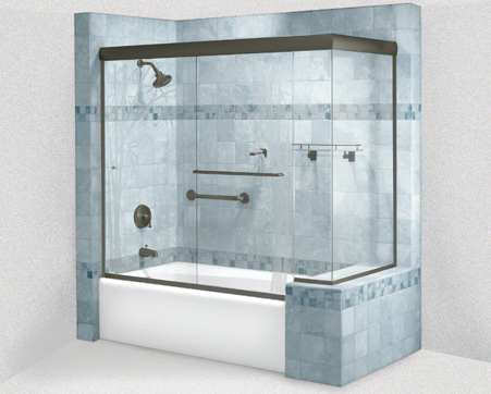 Cottage Series New York City Shower Doors