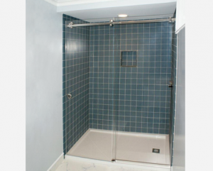 Headerless Shower Door