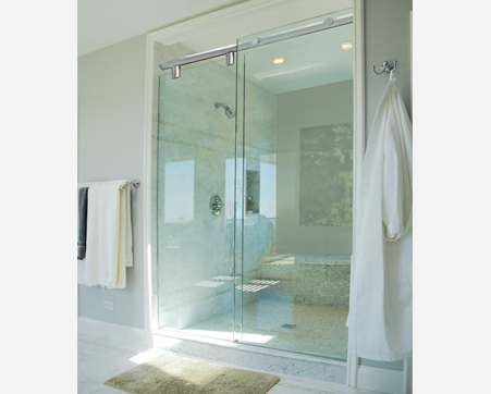 Hydroslide Series New York City Shower Doors