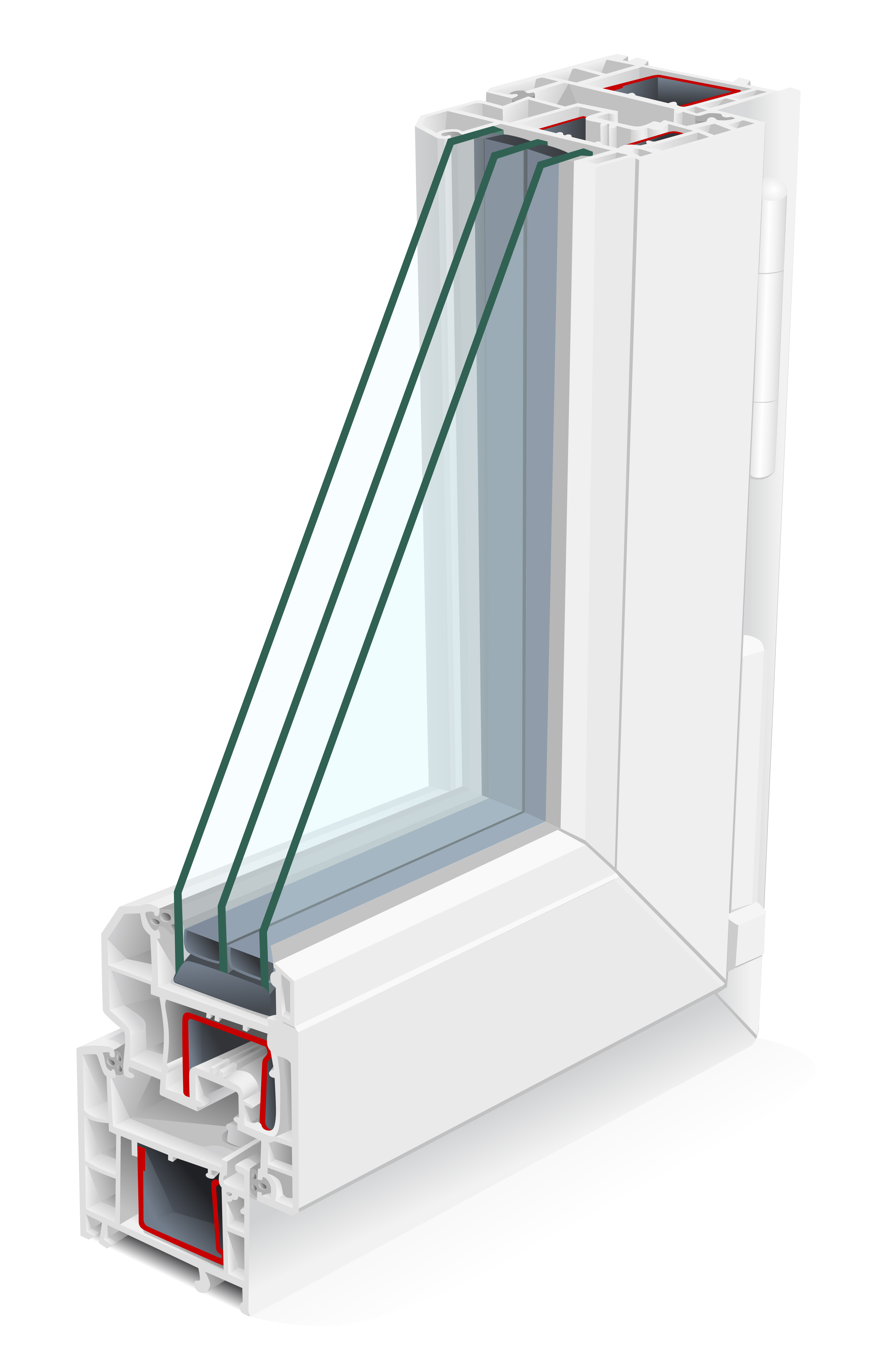 The Double Pane Window Is Made Up Of Two Layers Gl With A E In Between That Filled Type Gas These Windows Are Huge Advantage To